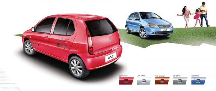 Tata Indica eV2 Colour Options