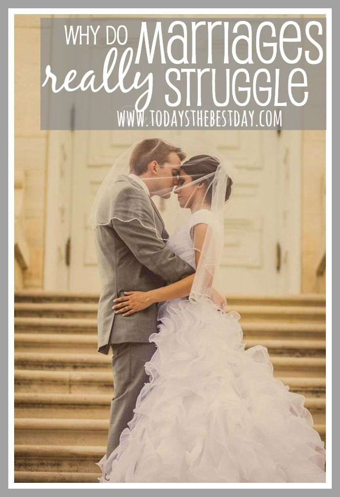 Why Do Marriages Really Struggle