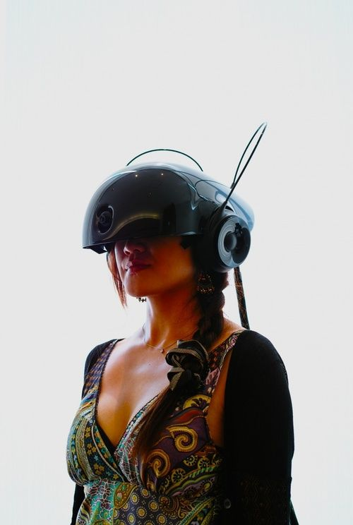 OTAKU GANGSTA, cyberpunk, future, virtual reality helmet, futuristic