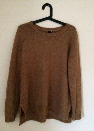 Kup mój przedmiot na #vintedpl http://www.vinted.pl/damska-odziez/swetry-z-dzianiny/16165507-sliczny-brazowy-sweterek-hm-36
