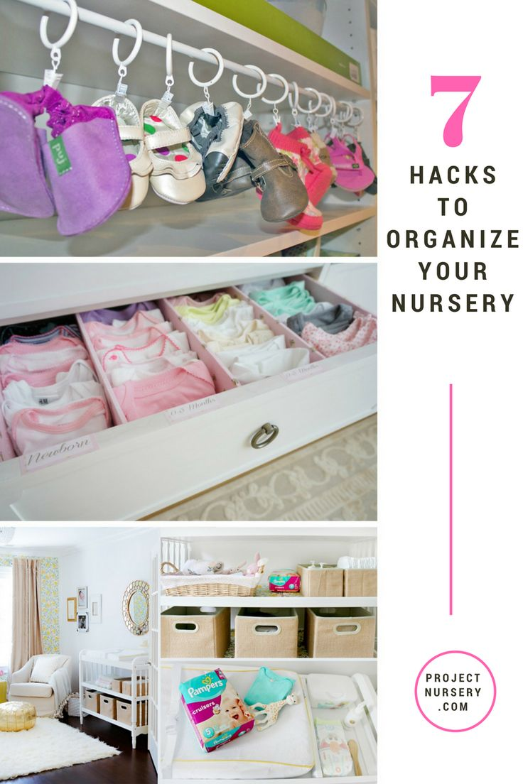 Pink mint and gray baby girl nursery project nursery - 7 Nursery Organization Ideas Great Ideas For Baby S Room Thanks To Pampers