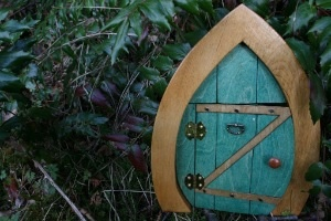 inspired by a mountain on Vancouver Island that has hiking trails with magical fairy doors