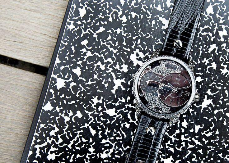 Čierne hodinky Diesel. Skvelé doplnky - šperky Diesel nájdete na http://www.1010.sk/c/panske-sperky/?filter_znacka=59