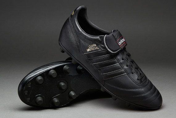 official photos 17432 2bc52 adidas Copa Mundial FG - Black Metallic Gold   Stylin    Black adidas  football boots, Football boots, Adidas football