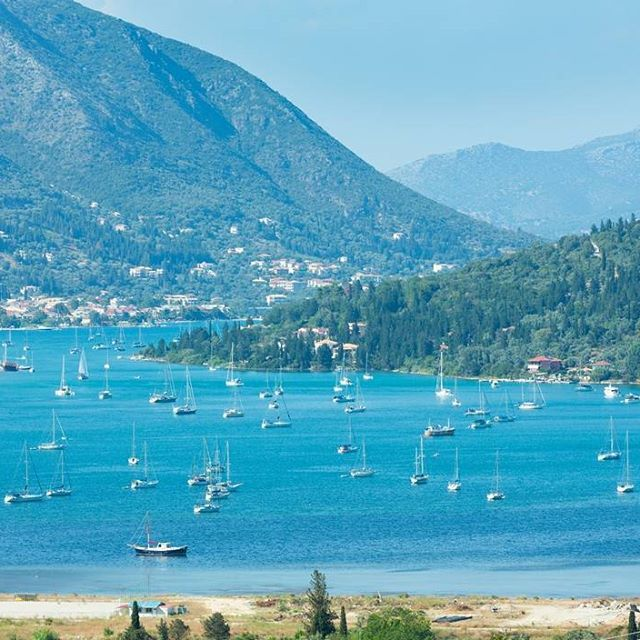 Βλυχό. If you love sailing, you will adore your voyage towards Nydri.