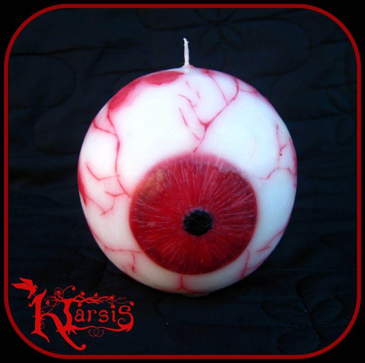 candle eye blood