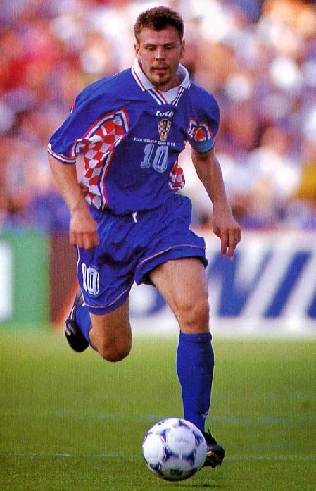 Zvonimir Boban of Croatia in 1996.