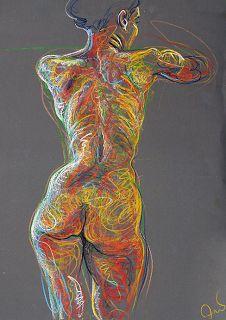Fred Hatt, Zeichnen mit Energie
