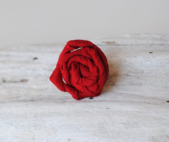 Unique Ring Adjustable / Red Ring / Tangled / by MaterialAtelier