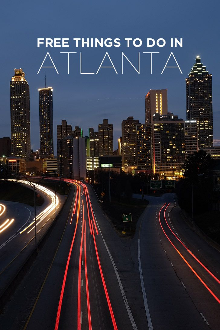Your Ultimate Guide of Free Things to Do in Atlanta Georgia USA // localadventurer.com