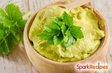 ... give this south of the border dip an eastern twist via sparkpeople