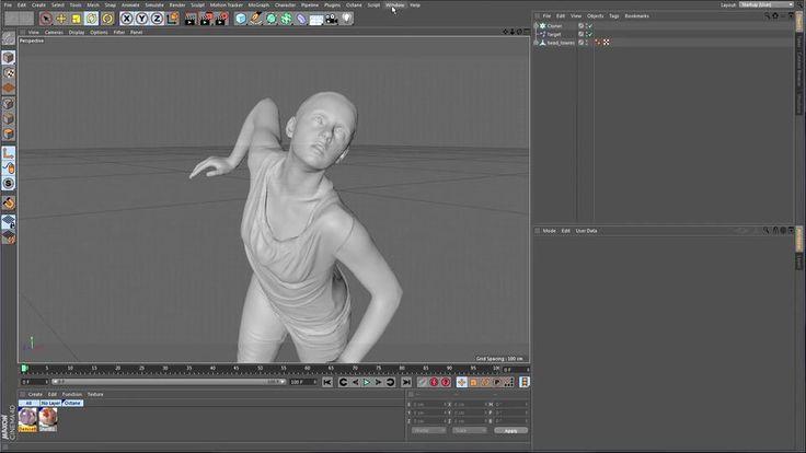 C4d Cinema 4d Sculpting Bodypaint 3d Maxon Modeling