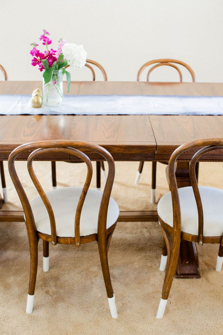 76 best DIPPED LEG DINING CHAIRS images on Pinterest