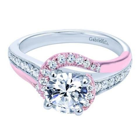 This is my dream ring! So different.. but soo perfect! I love it! Pink is my favorite color!