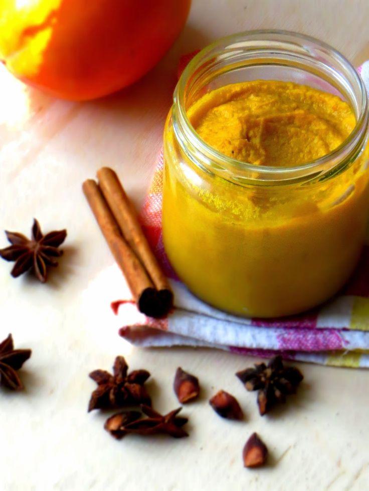 Secret way to the kitchen: Pumpkin curd