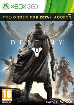 Destiny Xbox 360 Cover Art