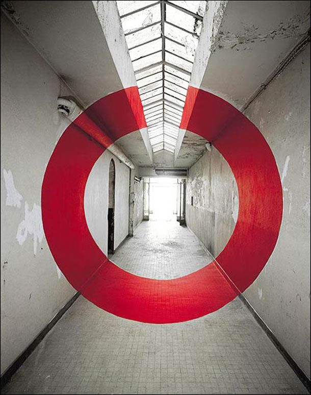 Anamorphoses - Georges Rousse