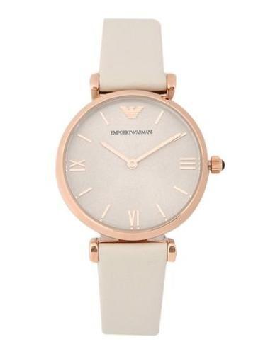 #Emporio armani orologio da polso donna Beige  ad Euro 319.00 in #Emporio armani #Donna orologi orologi da polso