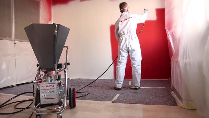 Airless Paint Sprayer TECNOVER mod. TR15000F for heavy products