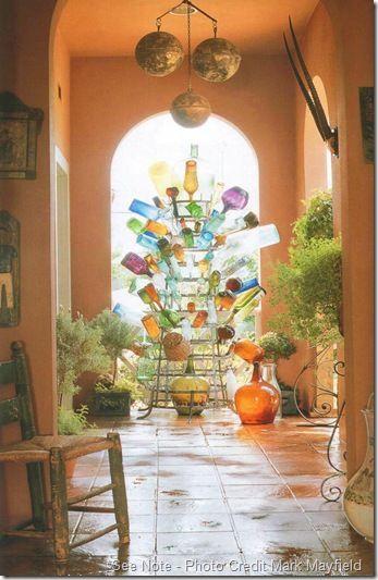 That indoor bottle tree
