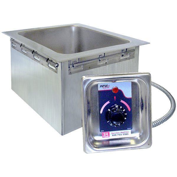 Apw Wyott Hfw 23d 2 3 Size Insulated One Pan Drop In 2020 Food Warmer Buffet Hotel Supplies Metal Countertops
