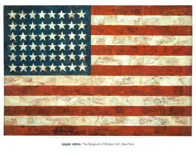 Drapeau, Jasper Johns, 1954