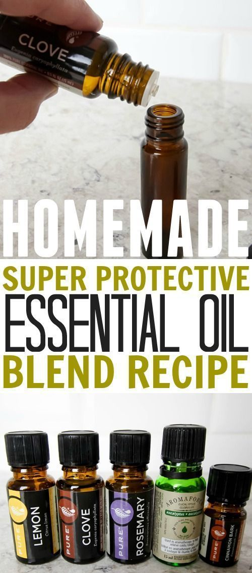 Make your own DIY protective essential oil blend for a lot less money! Essential oil uses, Essential oil recipe