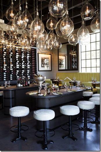 LaV Restaurant, Designed by McAlpine, Baker & Ferrier