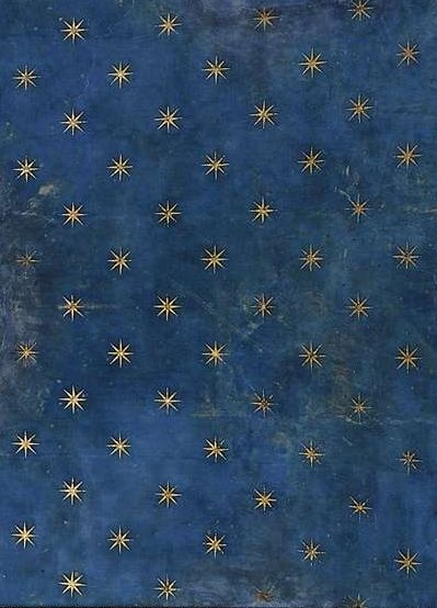 Fresco detail from the vault of Scrovegni Chapel (Padua) by Giotto, 1305