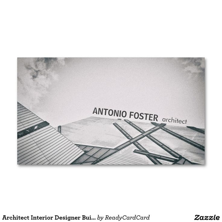 Architect Cards 48 best architects, interior designer's, carpenter and woodworker