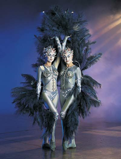"""HowStuffWorks """"How Cirque du Soleil Works""""  Support Circue du Soliel...People performing for people."""