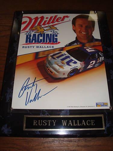 Rusty Wallace Miller Lite Elvis Car