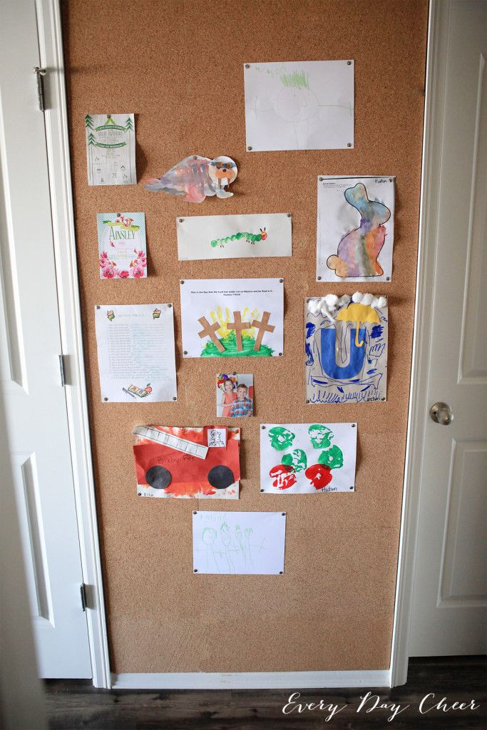 1000 ideas about cork wall on pinterest cork wall tiles for How to make a bulletin board wall