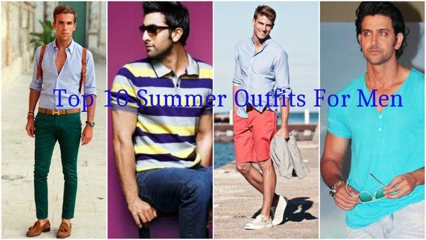 For the summer, you must always pick an outfit that would calm your nerves, absorb the sweat and wouldn't show any sweat stains.