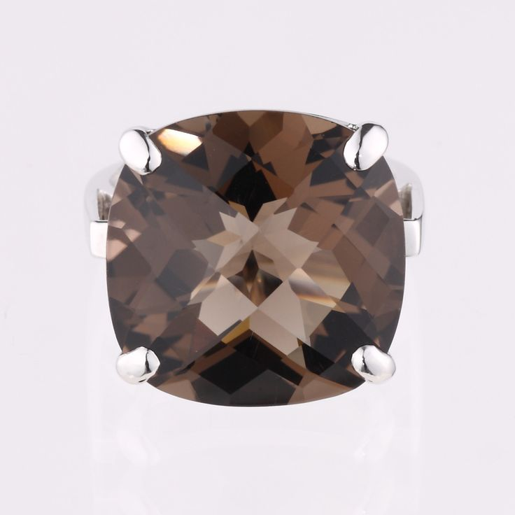 Smoky Quartz- Nadia Ring | Elverd Designs