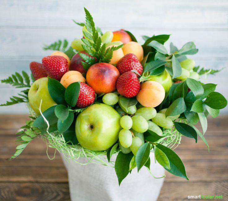 Leckere Alternativen zum Blumenstrauß Süssigkeitenstrauß
