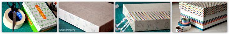 #recycle #box #washi tape www.dekortapasz.hu