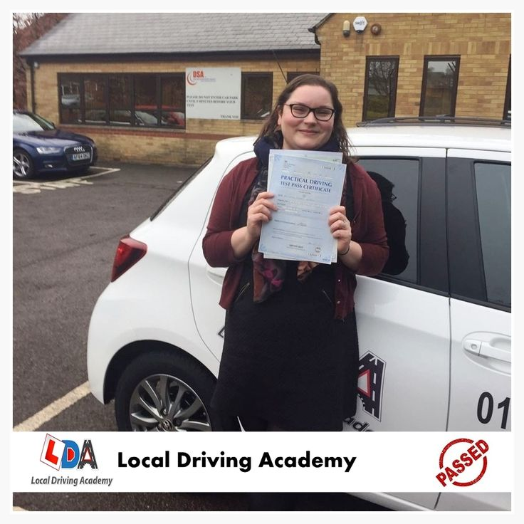Congratulations and well done to Laura Martin for passing her driving test with only 2 driving faults. Please bear this in mind at all times: Leave sooner, drive slower, live longer.    #DrivinginOxford #DrivingLicense #DrivingSchool #LDA #Oxford #UK