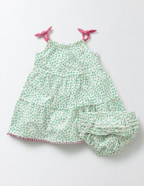 Tiered Summer Jersey Dress