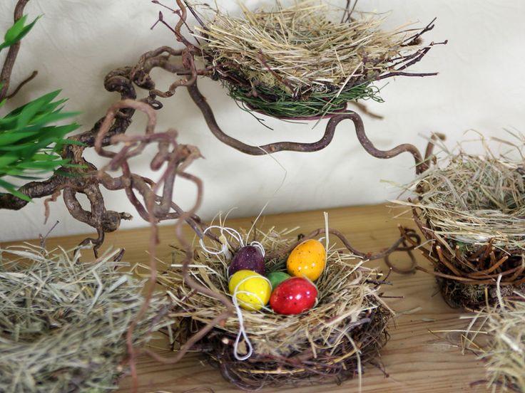 Cestini di Pasqua - 1 Pasqua, Nido di uccello, nido - un prodotto unico di karol-art su DaWanda