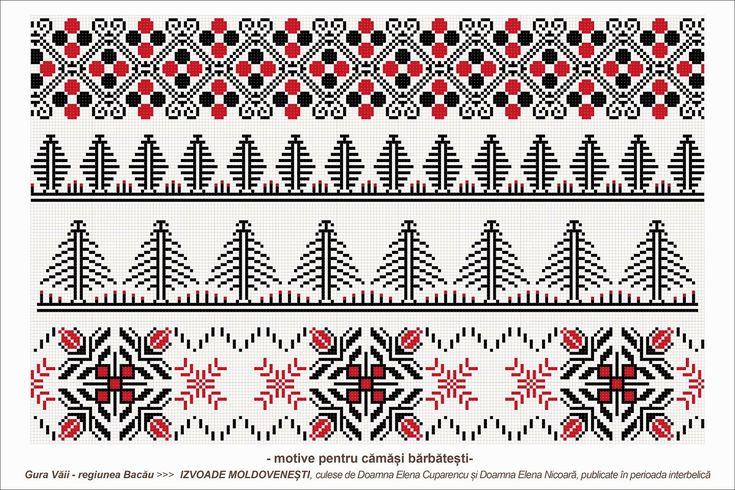 1000 images about semne populare romanesti cusute on pinterest russian cross stitch folk - Beautiful romanian folk motifs ...