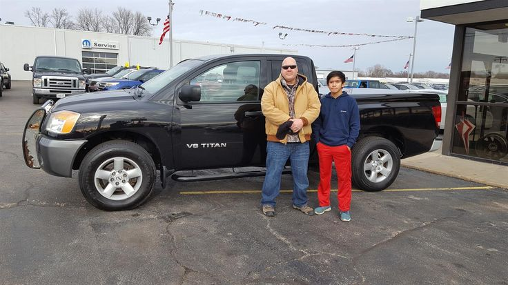 JAY's new 2008 Nissan Titan! Congratulations and best wishes from Kunes Country Auto Group of Sterling and Paul Pack.