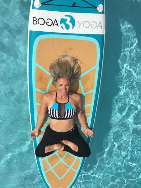 BOGA Yoga Boards are the one of the best SUP Yoga Boards. Designed and shaped for stability for all levels while practicing fitness or paddle board yoga on water