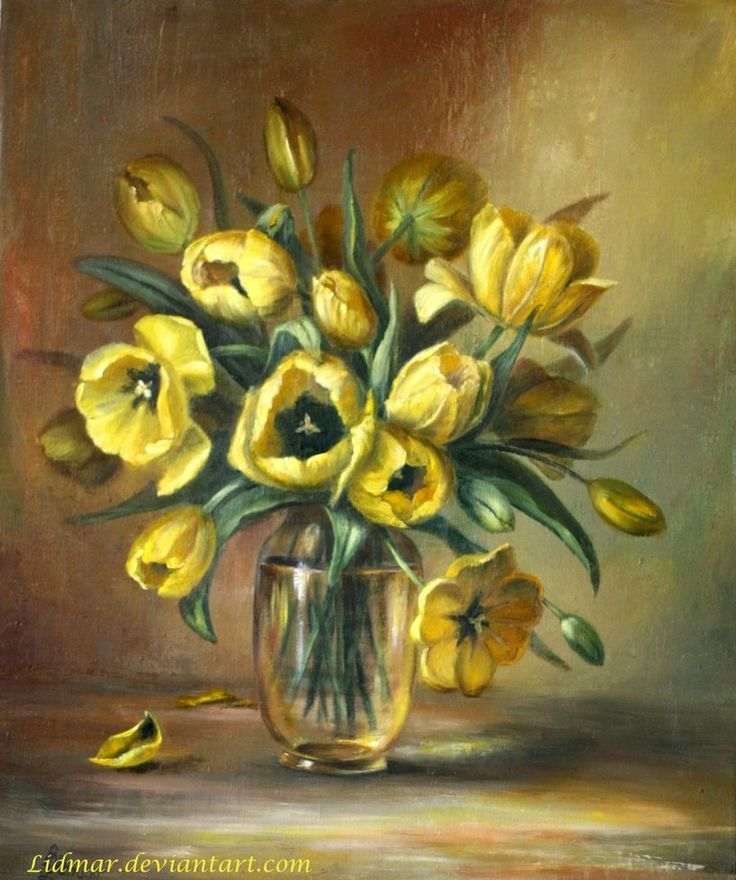 Tulips by Lidia Olbrycht
