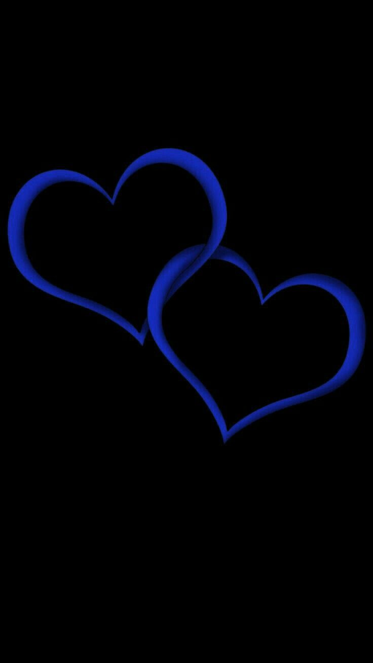 Pin By Blue Roses On All Blue Heart Iphone Wallpaper Heart Wallpaper Cover Pics For Facebook