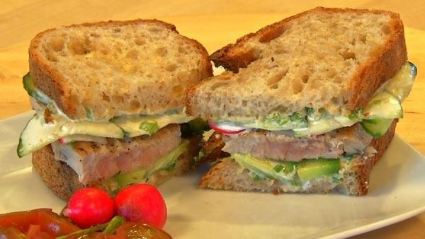 17 best images about sandwiches burgers on pinterest for Fresh tuna fish recipes