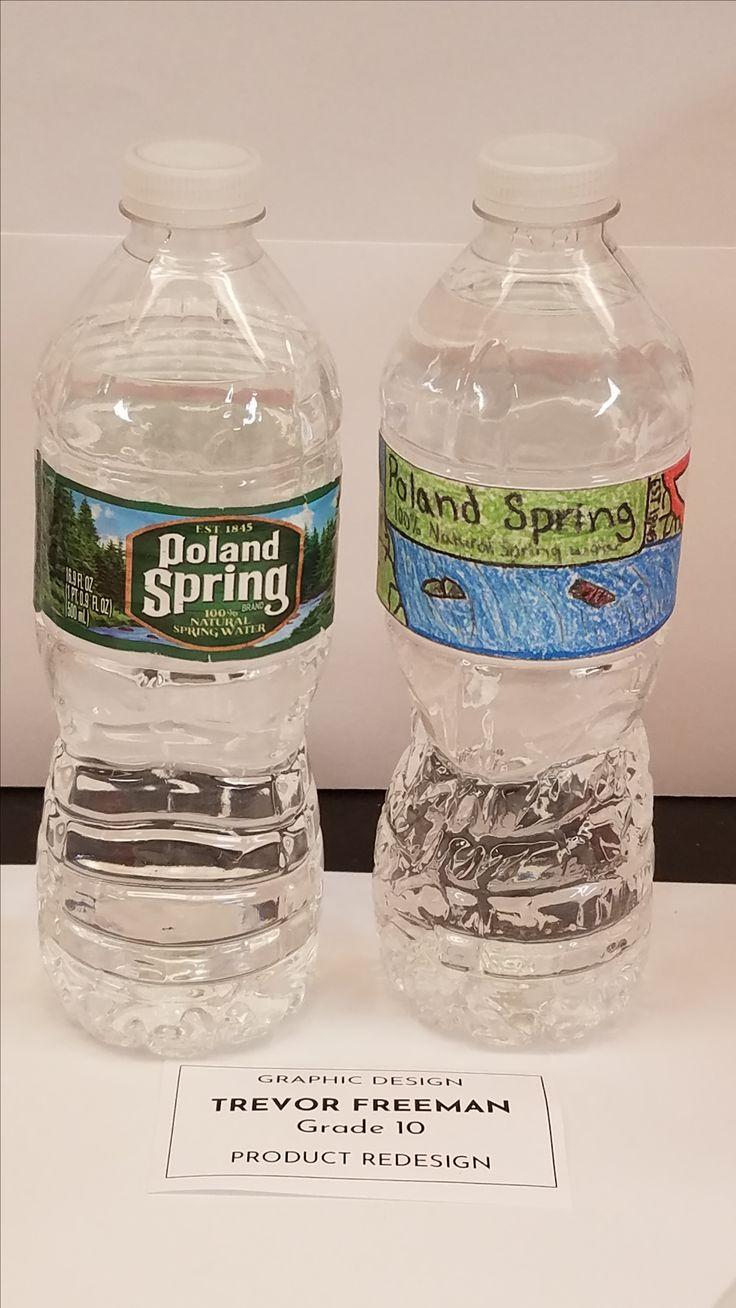 Label Poland Springs