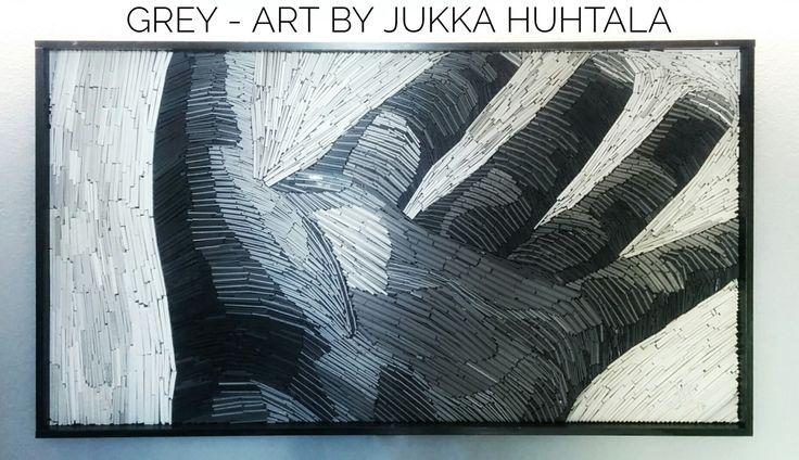 Color of the Week: Grey by @detaljee #abl-laatat #jukkahuhtalaart #jukkahuhtala #art #marble