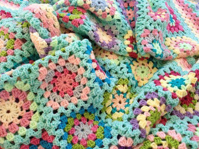 Granny squares blanket   Flickr - Photo Sharing!