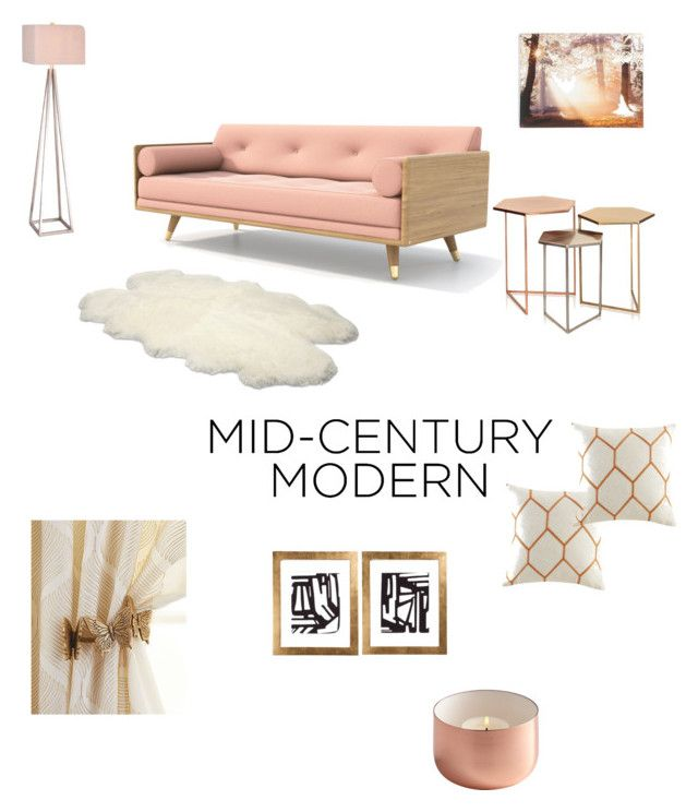 """""""Rose Gold Goodness"""" by thestyletrafficblog on Polyvore featuring interior, interiors, interior design, home, home decor, interior decorating, Catalina, UGG Australia, Graham & Brown and Madison Park"""